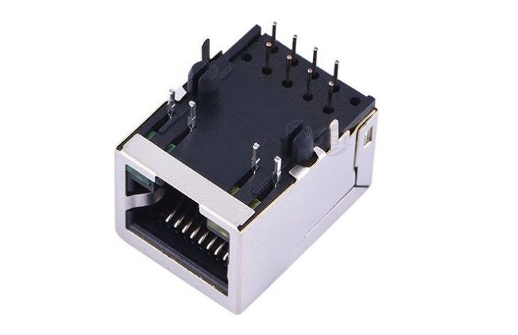 21.35*15.9*13.5 Female 100M RJ45 Magnetic Ethernet Jack